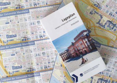 Lageplan Uni Mannheim