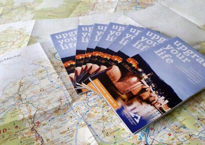 Übersichtskarte der Metropolregion Rhein-Neckar